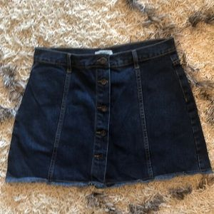 Forever 21 perfect denim skirt